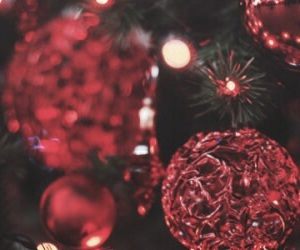 christmas, red, and header image