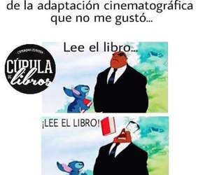 books, memes, and lectores image