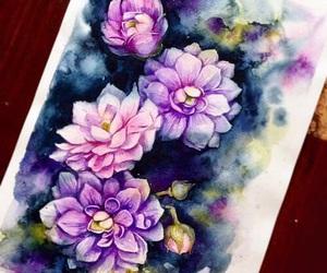 flowers, art, and beautiful image