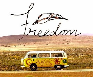 freedom, peace, and free image
