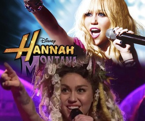 hannah montana and miley cyrus image