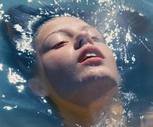 blue is the warmest color, water, and la vie d'adèle image