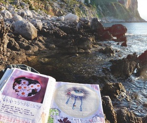 book, nature, and grunge image