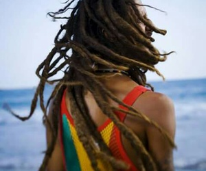 dreads, dreadlocks, and rasta image