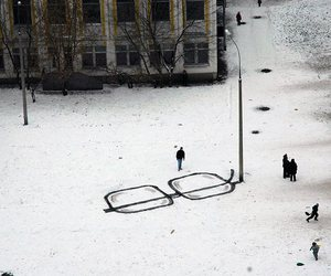 glasses, street art, and art image