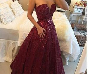 beautiful, dress, and Prom image