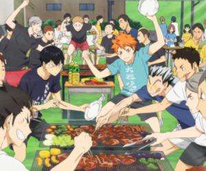 anime, hinata, and haikyuu image