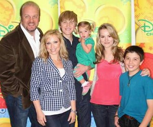 childhood, good luck charlie, and disney image