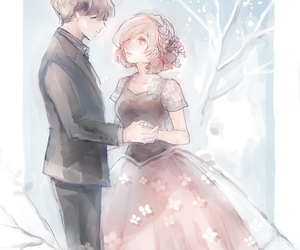 anime, tokyo ghoul, and couple image