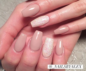 gel, nails, and cute image