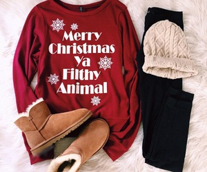 christmas, fashion, and winter image