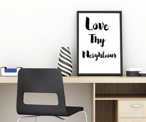 instant download, typography print, and printable wall decor image