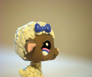 littlest pet shop, lps, and sheep image