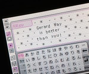 ds, gerard way, and mcr image