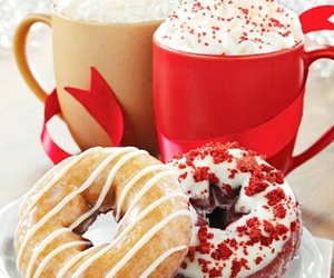 donuts, christmas, and food image