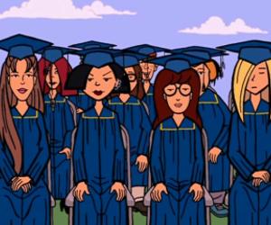 Daria and graduation image