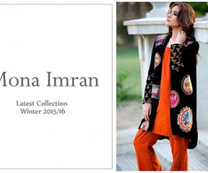 winter collection 2015 and mona imran image