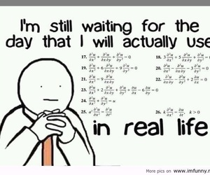 math, funny, and life image