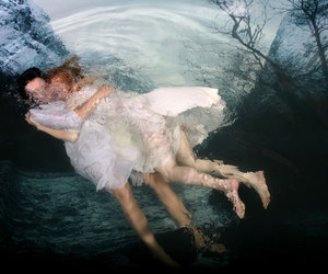 photography, underwater, and water image