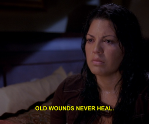 greys anatomy, quotes, and subtitles image