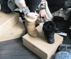boots, watch, and bracelet image