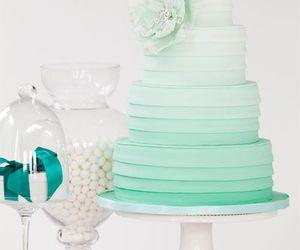 cake, wedding, and sweet image