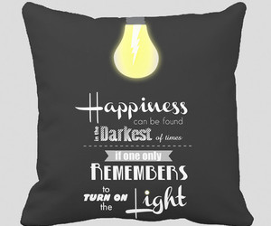 happyness, harry potter, and pillow case image