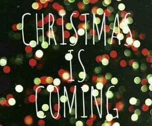 christmas, coming, and lights image