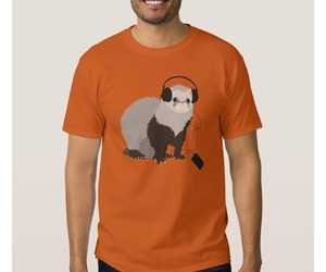 clothing, ferret, and funny image