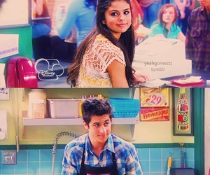 selena gomez, alex russo, and david henrie image