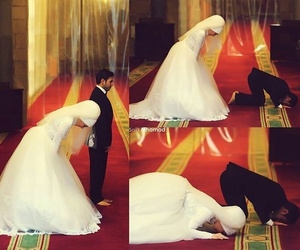 muslim, wedding, and islam image