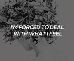 feelings, Lyrics, and quote image