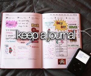 journal, diary, and hope image
