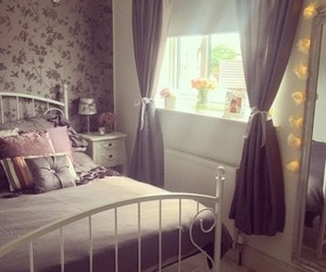 bedroom, room, and love image