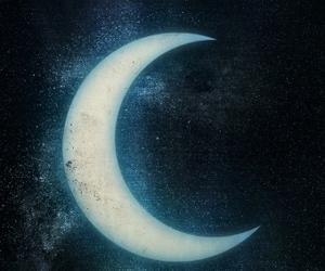 grunge and moon image