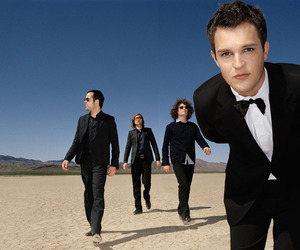 the killers, band, and brandon flowers image