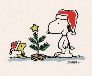 snoopy and christmas image