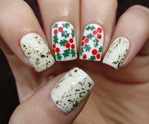 christmas, nail art, and christmas nail image