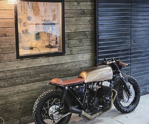 motorcycle, photography, and vintage image