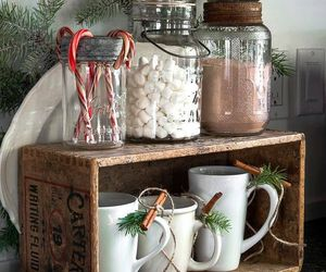 christmas, candy, and decoration image