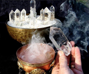 magic, crystal, and witch image