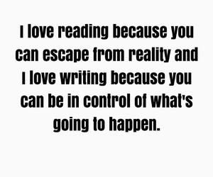 author, books, and escape image