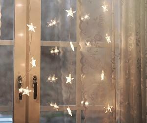 stars, light, and window image