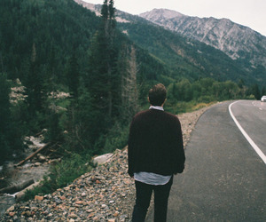 nature, boy, and indie image