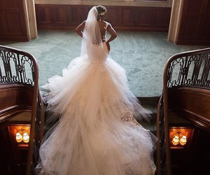 back, bride, and photo image