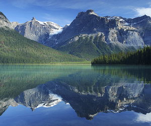 lake, mountains, and relax image