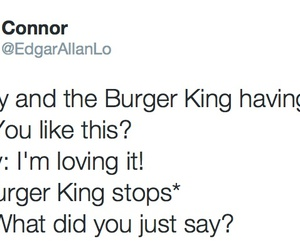 funny and burger king image