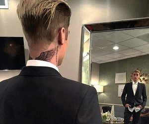 justin bieber, tattoo, and justin image