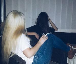 black, girls, and hair image