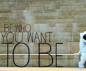 be, you, and want image